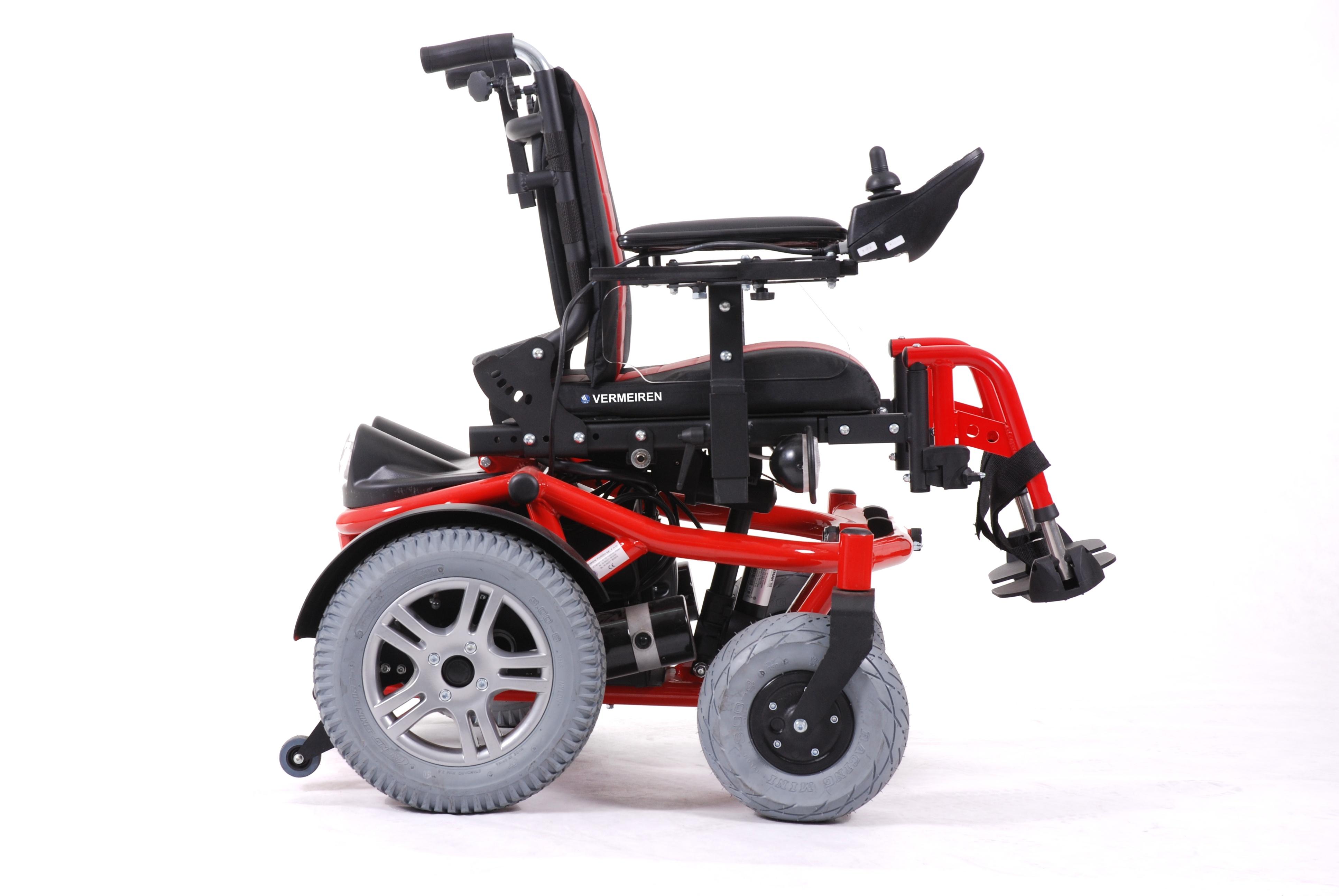 FOREST KIDS wózek inwalidzki z napędem elektrycznym pokojowo-terenowy