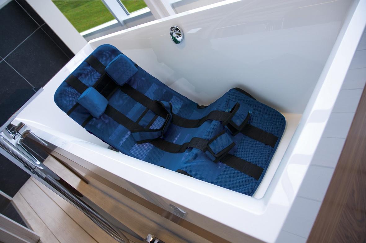 PEPI Leżaczek do kąpieli dla dzieci z MPD
