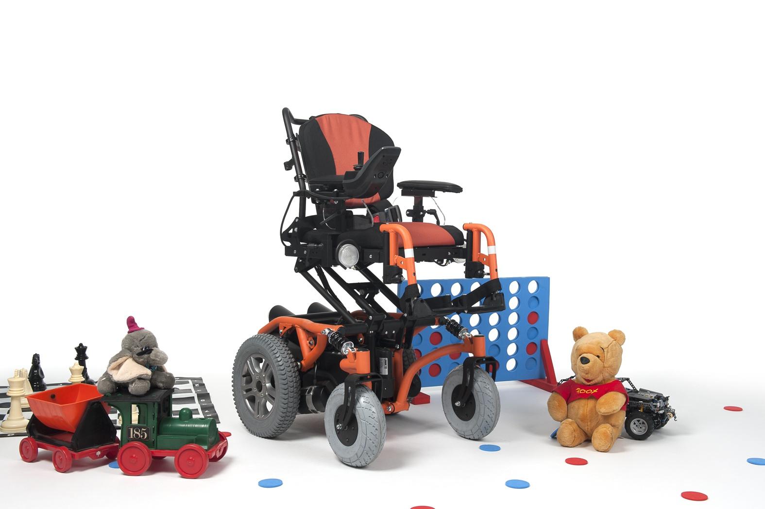 SPRINGER Wózek z napędem elektrycznym pokojowo-terenowy