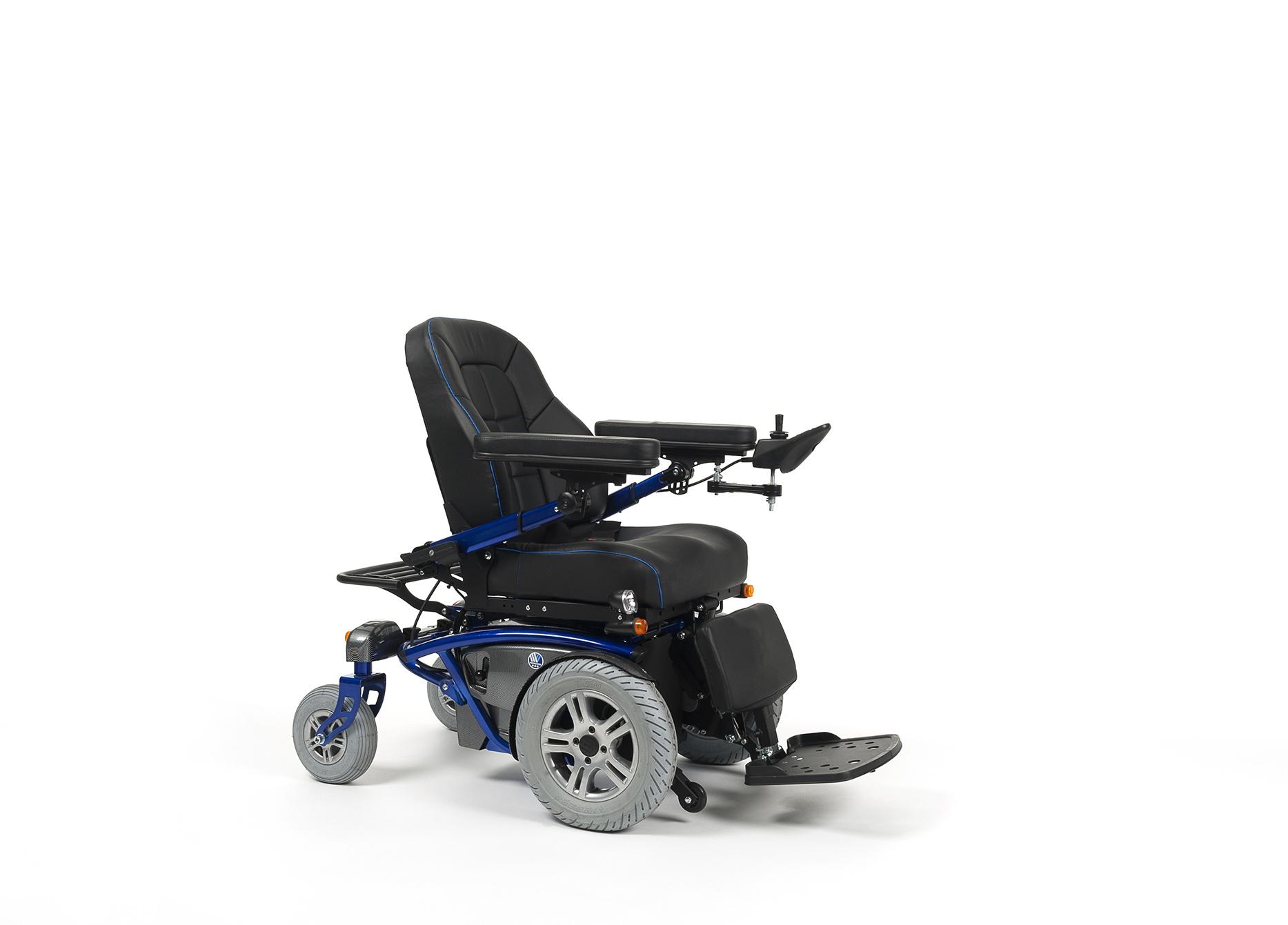 TIMIX Wózek z napędem elektrycznym na przednie koła terenowy