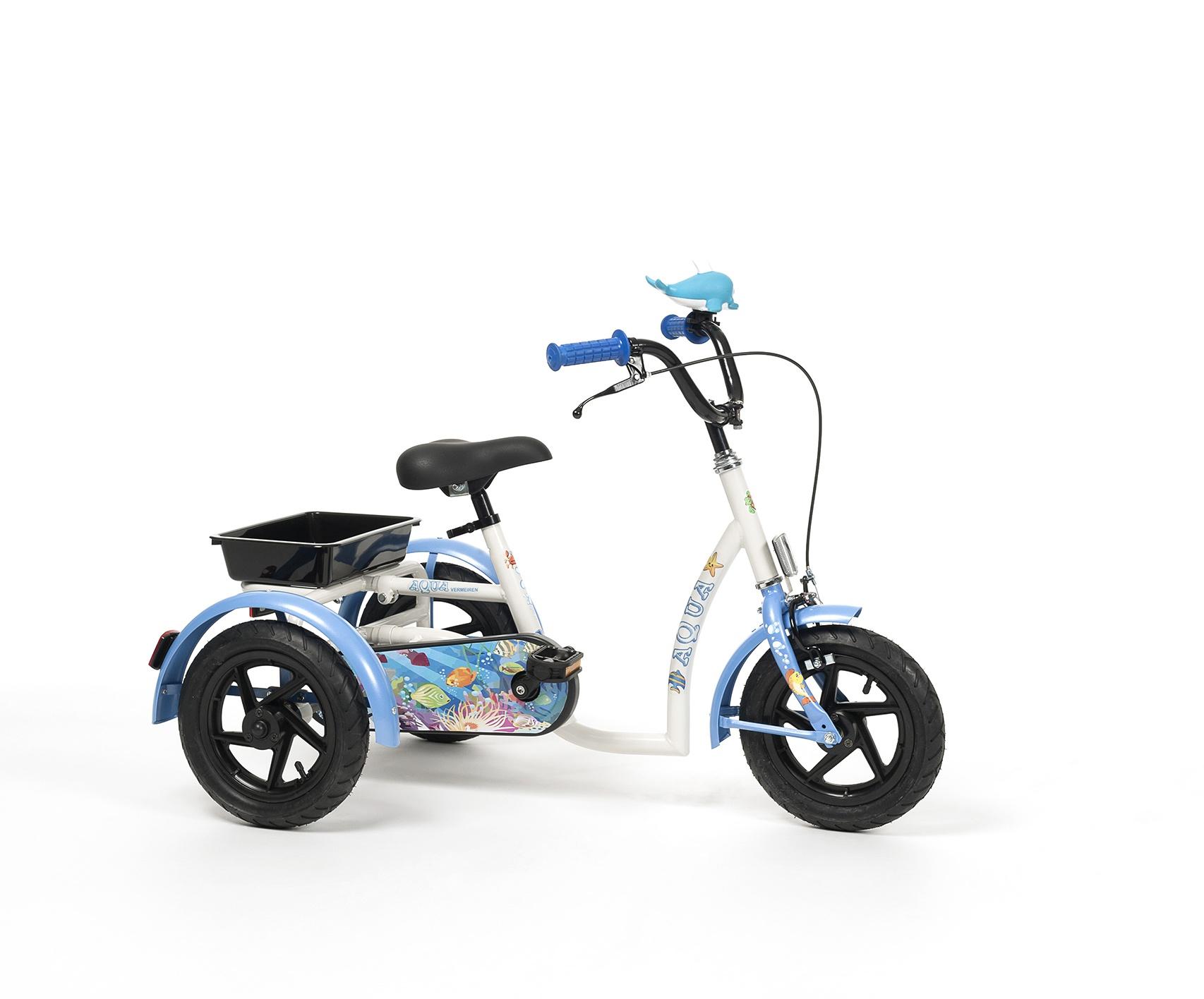 AQUA Rower rehabilitacyjny trójkołowy dla dziewczynek w wieku 3-7 lat