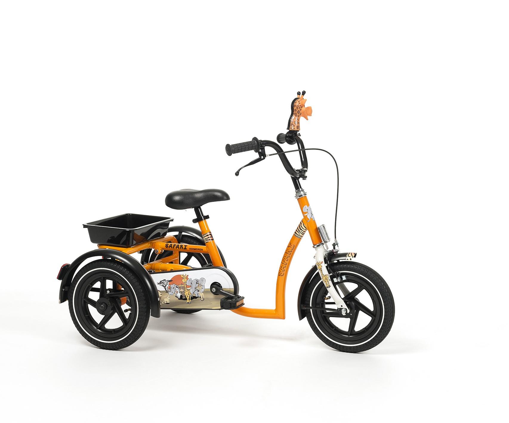 SAFARI Rower rehabilitacyjny trójkołowy dla chłopców w wieku 3-7 lat