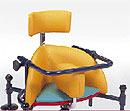 Ormesa Birillo Fotelik rehabilitacyjny na kółeczkach ze stabilizacją pleców i głowy