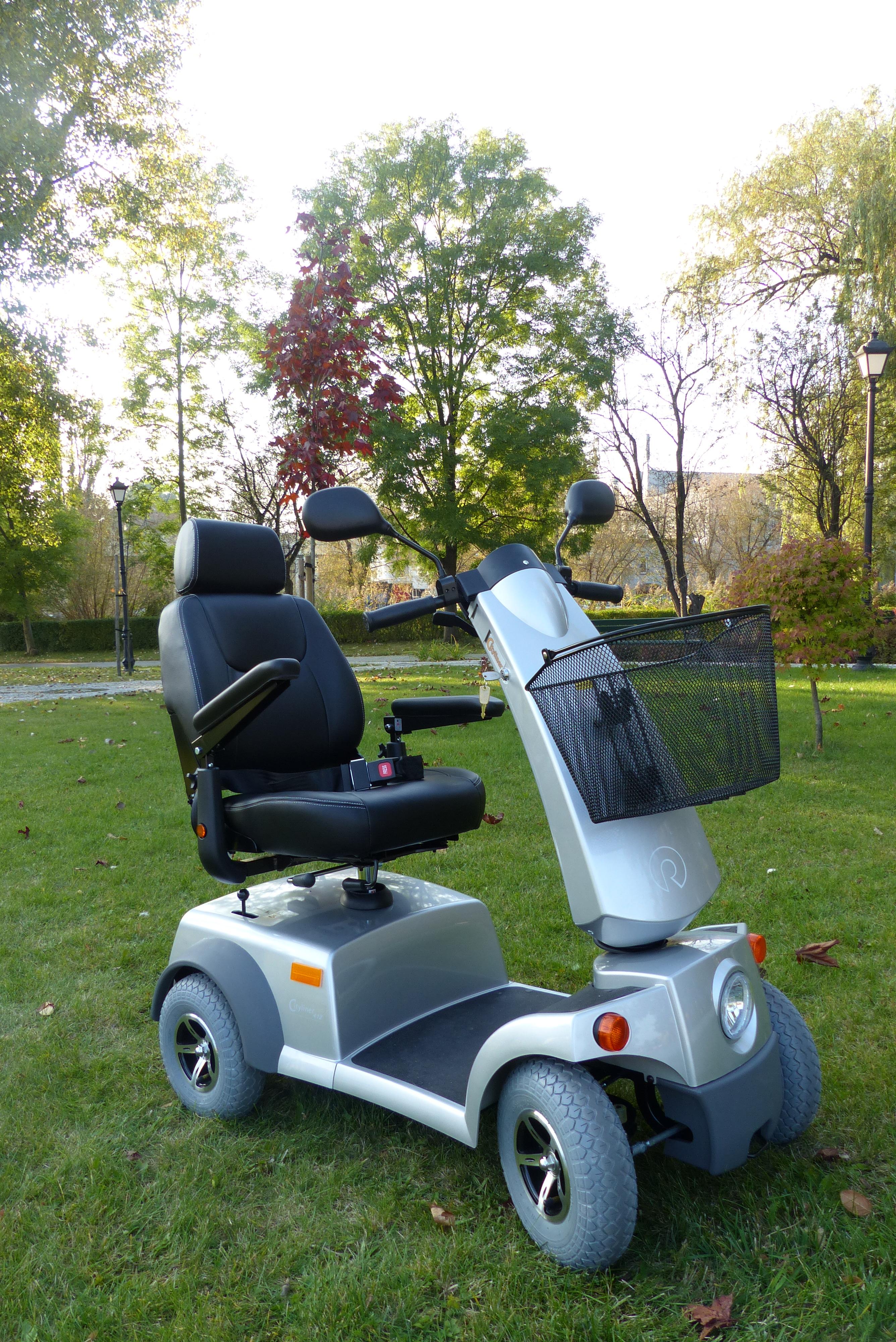 Cityliner 412 2.364 czterokołowy skuter elektryczny dla osób niepełnosprawnych