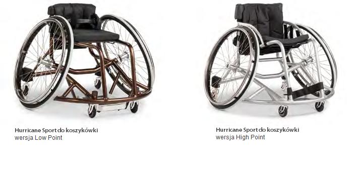 HURRICANE 1.880 ręczny wózek inwalidzki z oddychającą tapicerką