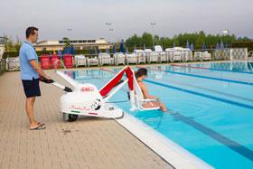 Panda Pool podnośnik basenowy dla osób niepełnosprawnych