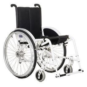 X2 3.351 ręczny wózek inwalidzki z krzyżakową, aluminiową konstrukcją