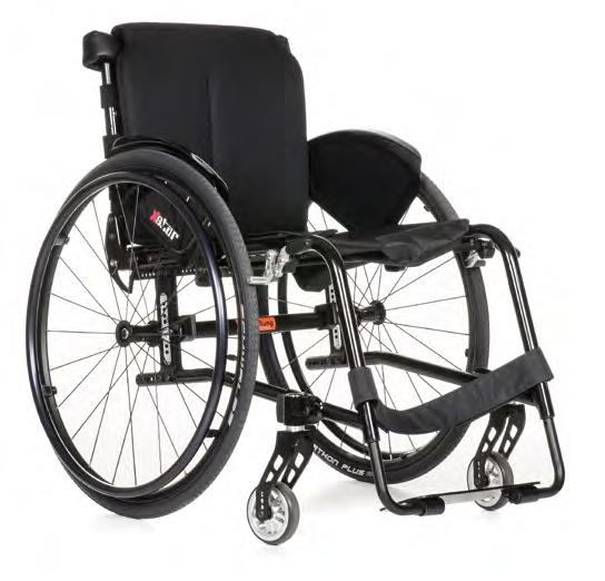 Xstar 1.160 ręczny wózek inwalidzki z regulowanym kątem siedziska