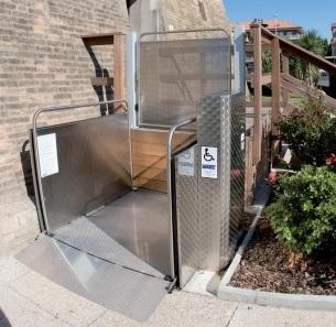 Podnośnik platformowy dla niepełnosprawnych SILVER (wysokość podnoszenia do 1,2 metra)