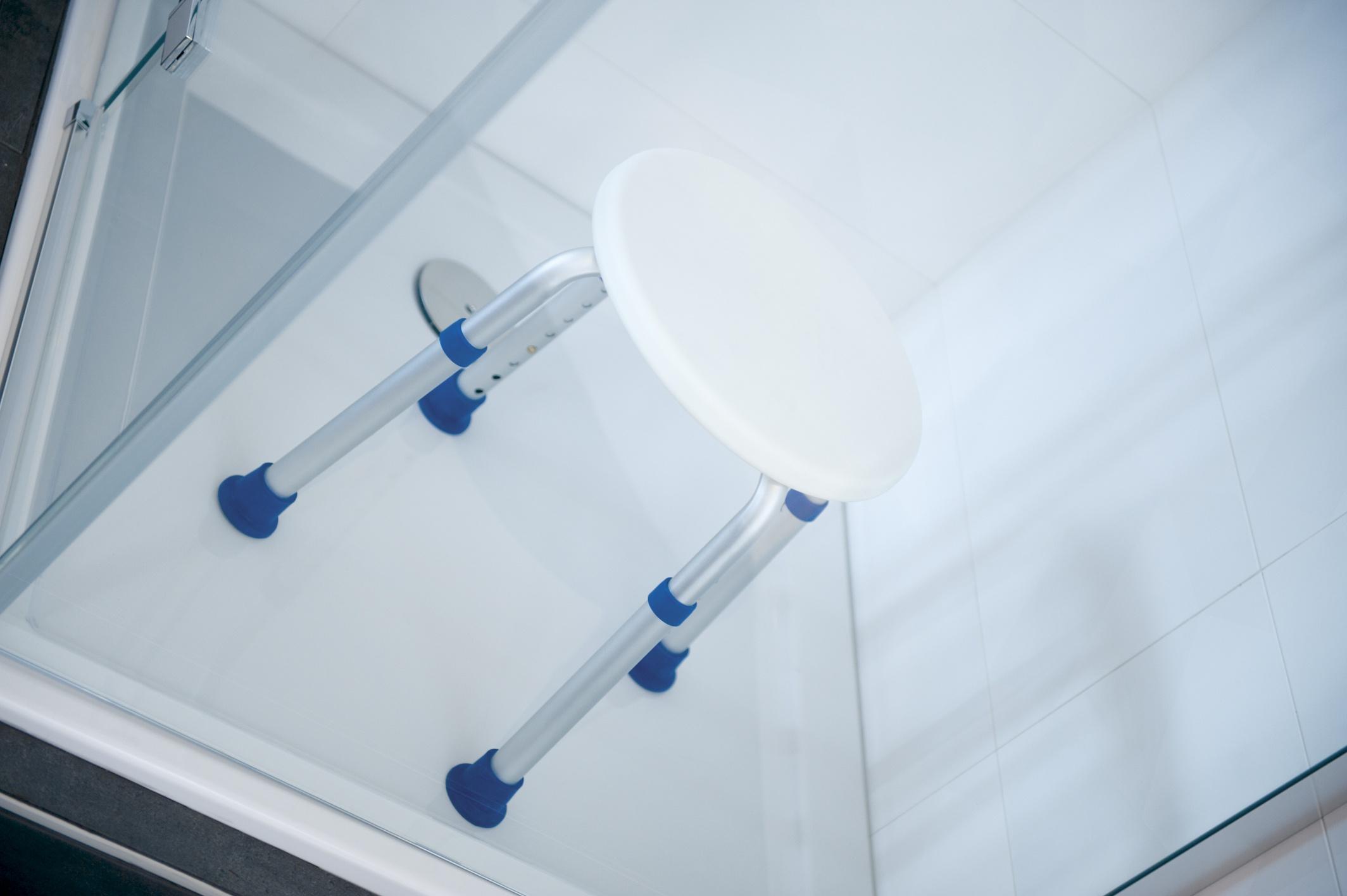 JINNY Taboret pielęgnacyjno-prysznicowy