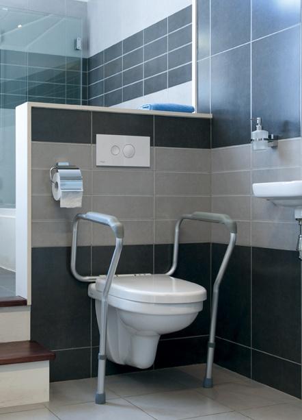 LIDDY Uchwyty przy toalecie dla osób niepełnosprawnych