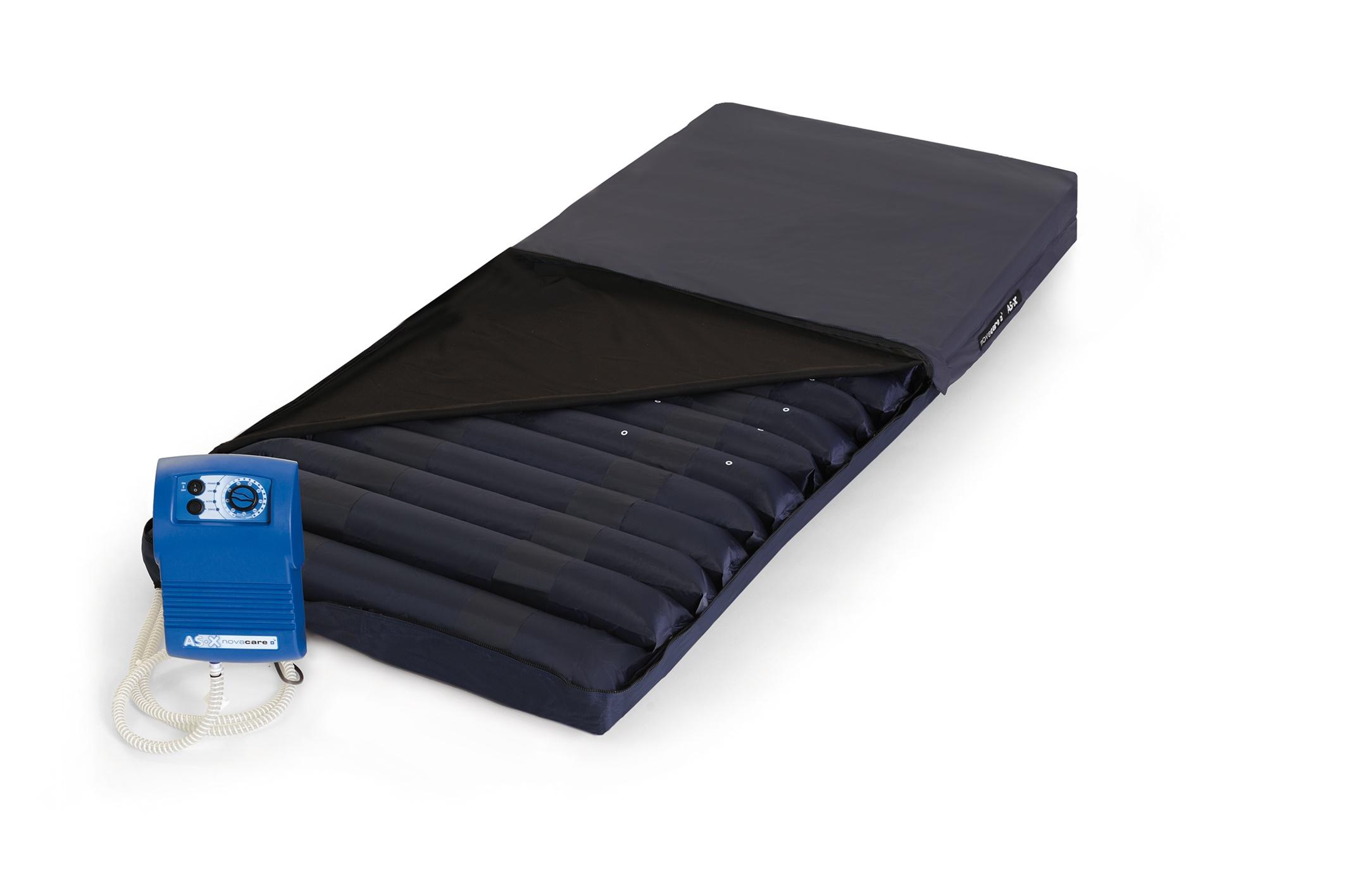 ASX Novacare materac zmiennociśnieniowy - rurowy do III stopnia zagrożenia odleżynami w skali czterostopniowej EPUAP.