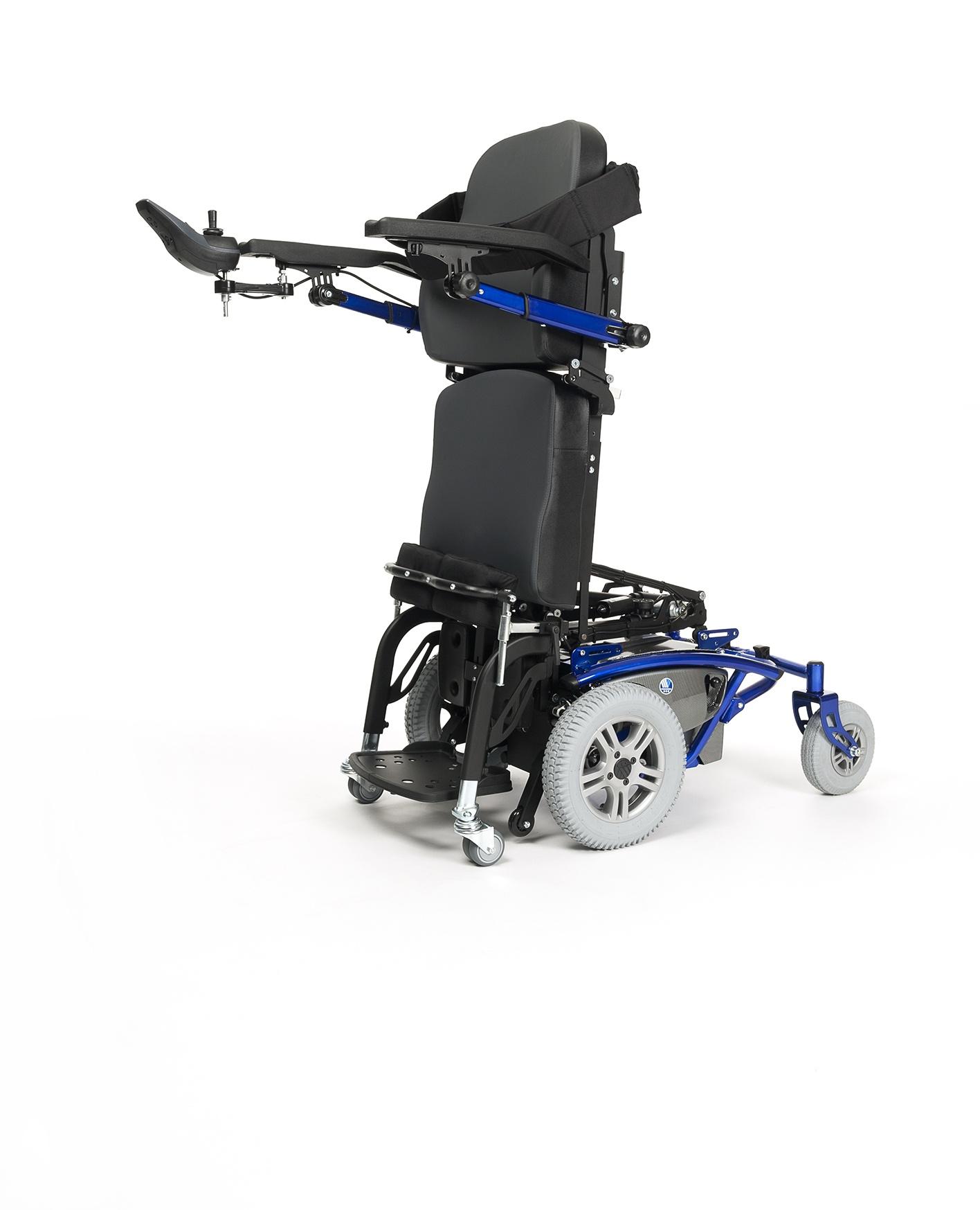 TIMIX SU Wózek z napędem elektrycznym na przednie koła, terenowy, z funkcją pionizacji