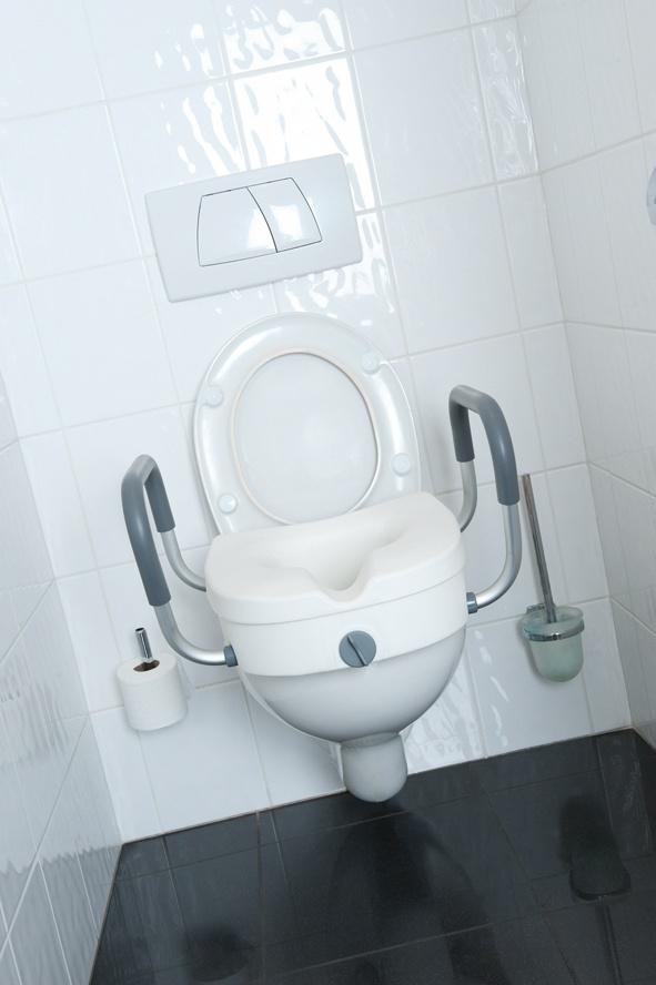 TINA Nasadka na toaletę z podłokietnikami dla osób niepełnosprawnych