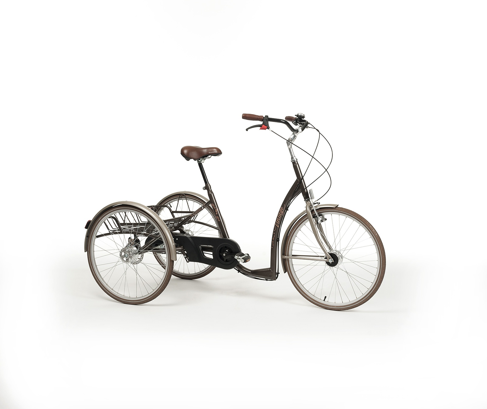 VINTAGE Rower rehabilitacyjny trójkołowy dla dorosłych w stylu RETRO