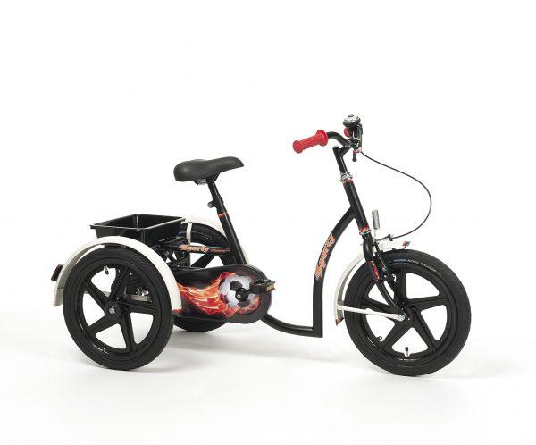 SPORTY Rower rehabilitacyjny trójkołowy dla chłopców w wieku 8-13 lat
