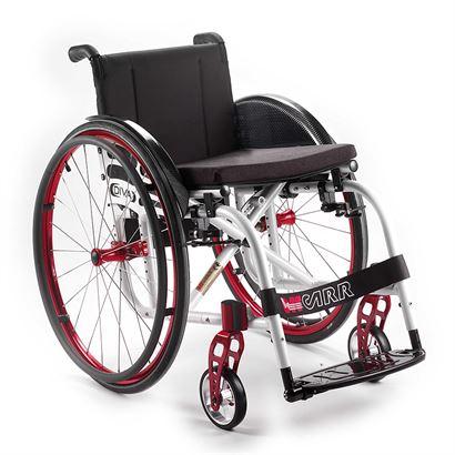 Offcarr Diva Wózek aktywny, lekki, krzyżakowy, składany, na szybkozłączach