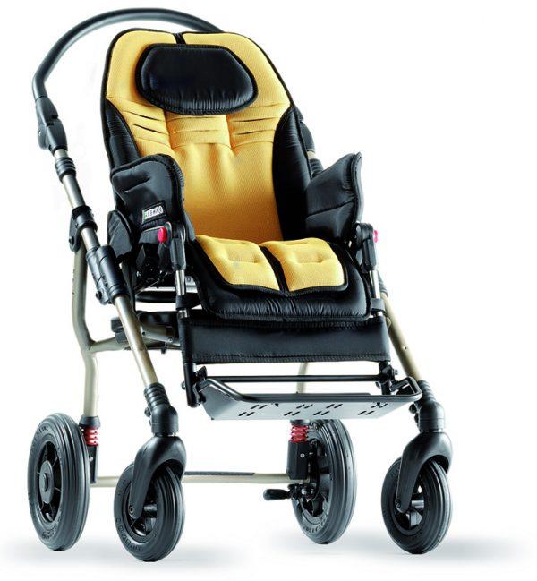 Ormesa New Bug Wózek inwalidzki specjalny, dziecięcy, spacerowy, spersonizowany, doposażony