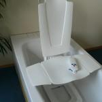 Capri 291360061 trzyczęściowy podnośnik wannowy dla osób niepełnosprawnych