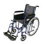 New Classic Wózek inwalidzki ręczny (standardowy, stalowy)