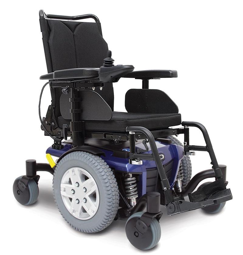 Pride Q4 wózek inwalidzki z napędem elektrycznym drogowy