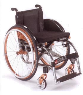 Offcarr Alhena Wózek aktywny, lekki, krzyżakowy, składany, na szybkozłączach