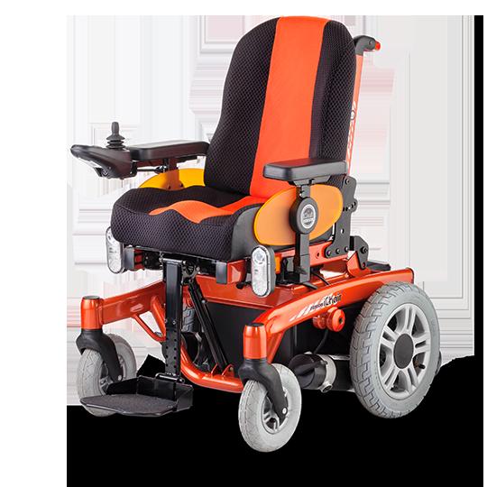 ICHAIR JUNIOR 1.616 joystickowy wózek elektryczny dla inwalidów