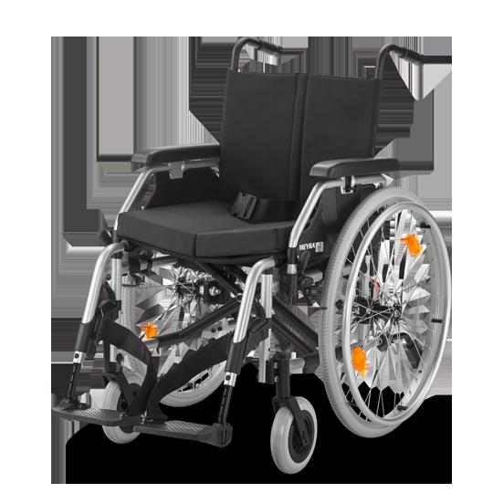 EUROCHAIR 2 2.750 ręczny wózek inwalidzki z płynną regulacją wysokości