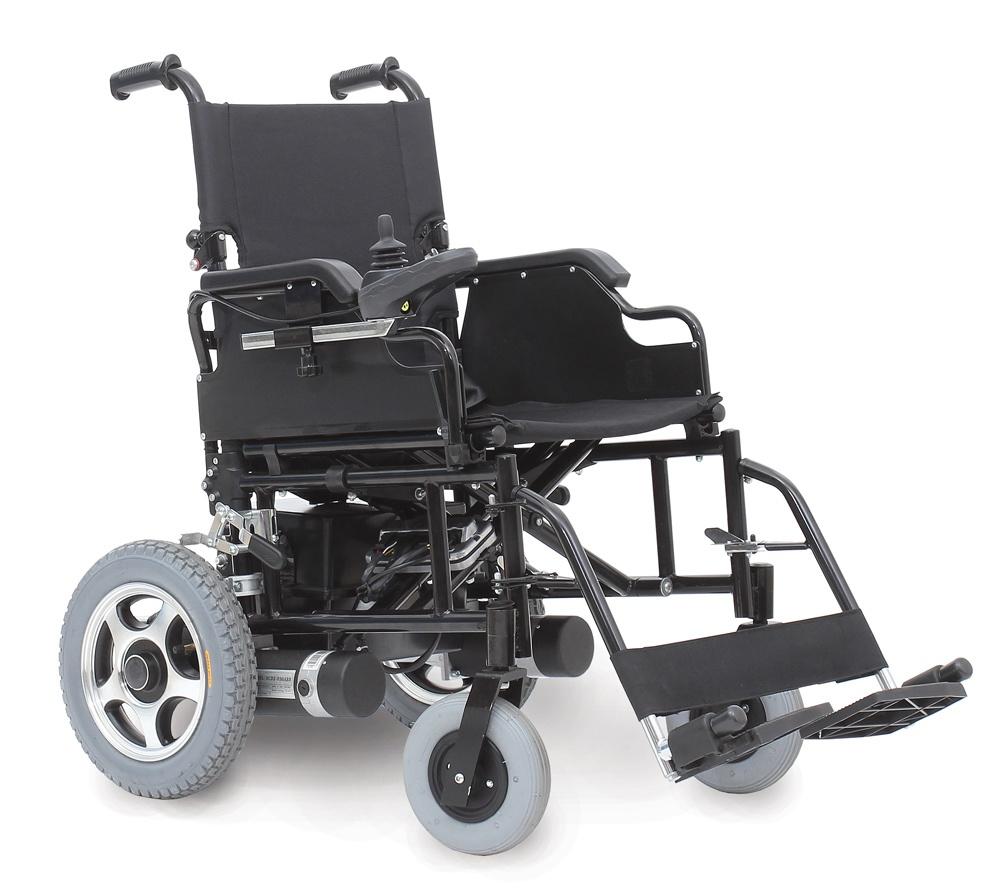Flash (R4) wózek inwalidzki składany krzyżakowy