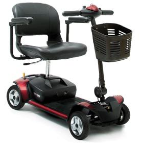 GOGOEliteTraveller elektryczny skuter dla osób niepełnosprawnych