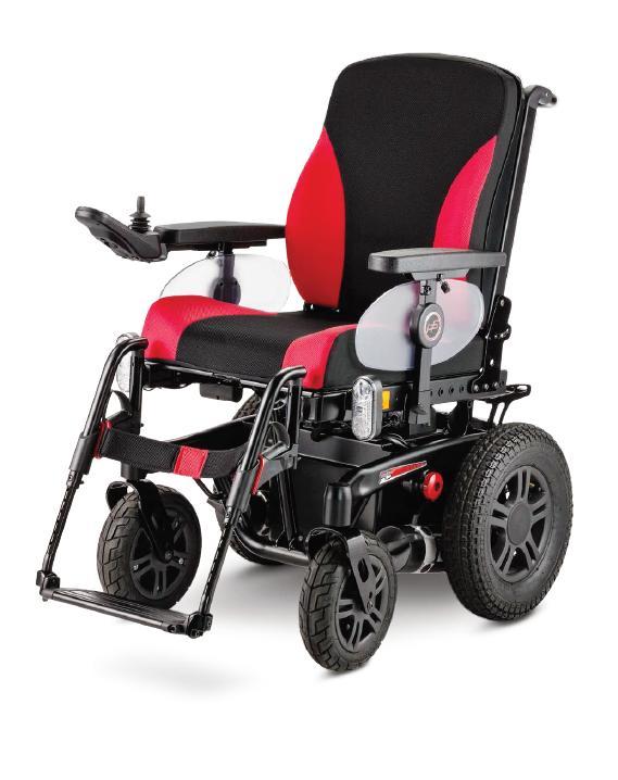 ICHAIR RS 1.615 wózek elektryczny joystickowy pokojowo-terenowy