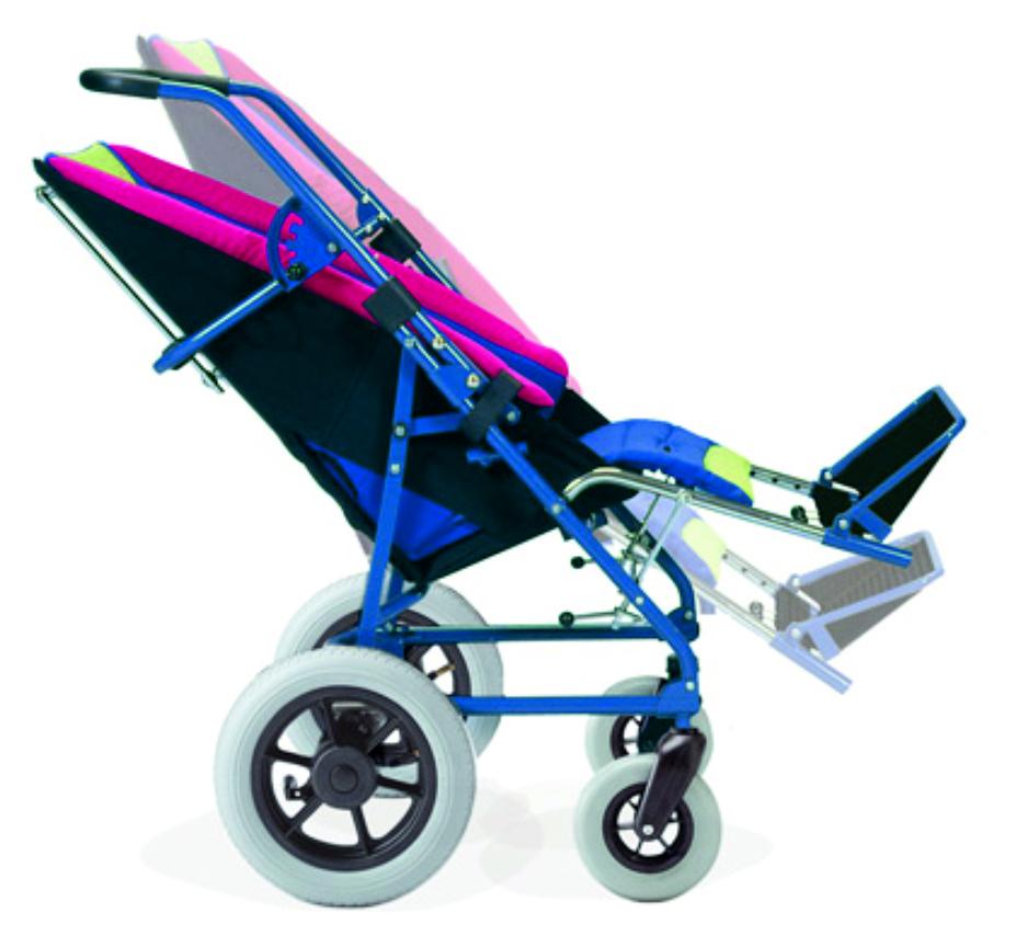 Ormesa Obi Wózek inwalidzki specjalny, dziecięcy, typu kubełkowego dla dzieci z MPD, spersonizowany, doposażony