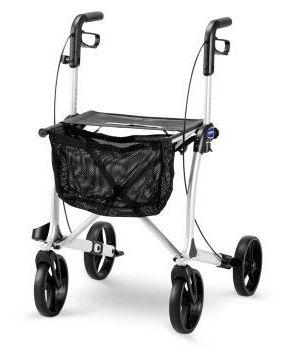 Mobilus podpórka z hamulcami dla inwalidów
