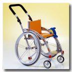 BRIX 1.123 ręczny wózek inwalidzki dla dzieci z atrakcyjnym wzornictwem