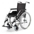 BUDGET 9.050 składany krzyżakowo ręczny wózek inwalidzki