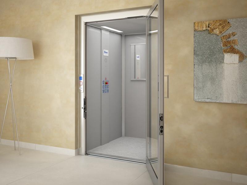 EcoVimec pionowa winda dla inwalidów